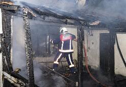 Yangında mahsur kalan 6 kişiyi Gece Kartalları kurtardı