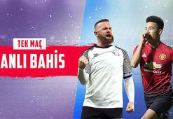 Derby-Manchester United maçı canlı bahisle Misli.comda...