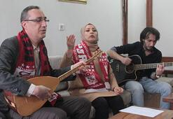 Ev hanımından Sivasspora şampiyonluk türküsü