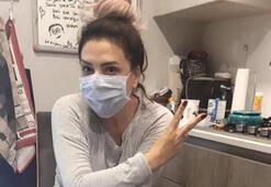 Işın Karaca'nın koranavirüs paylaşımı dikkat çekti