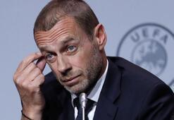 UEFA başkanı Ceferinden EURO 2020 açıklaması Koronavirüs...