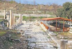 1600 yıllık mozaik çatıyla korunacak