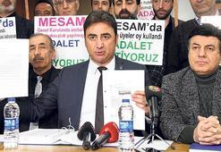 'MESAM'da adalet istiyoruz'