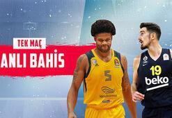 Khimki-Fenerbahçe Beko maçı canlı bahisle Misli.comda...