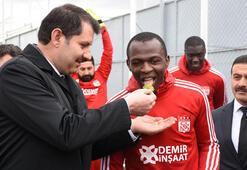 Sivassporda Galatasaray maçının mesaisi sürüyor