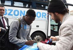 Trabzonspor kafilesi Gaziantepe gitti