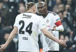 Beşiktaşta Atiba ile Vida tartıştı