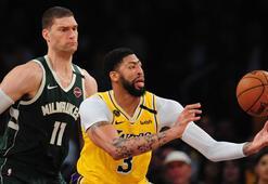 NBAde liderlerin mücadelesinde kazanan Los Angeles Lakers