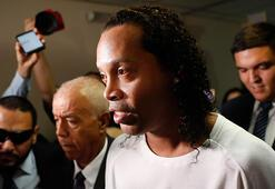 Ronaldinho, Paraguayda tutuklandı