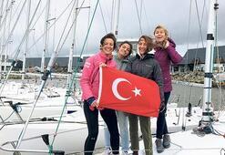 Kadın yelkenciler Fransa'da yarışıyor