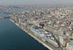 Galataportta sona doğru... İlk kruvaziyer gemi Nisanda geliyor