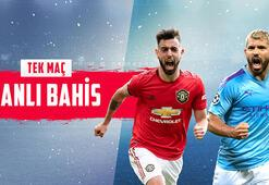 Manchester United - Manchester City derbi canlı bahisle Misli.comda
