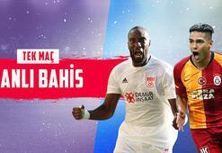 Sivasspor - Galatasaray maçı canlı bahisle Misli.comda