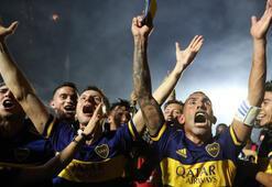 Arjantinde şampiyon Boca Juniors
