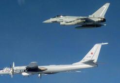 İngiliz - Rus uçakları arasında gerilim