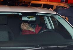 Direksiyon başında uyuyakalan sürücü, ekipleri alarma geçirdi