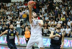Beşiktaş Sompo Sigorta-Fenerbahçe Beko: 73-74