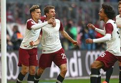 Lider Bayern Münih, sahasında Augsburgu 2-0 yendi