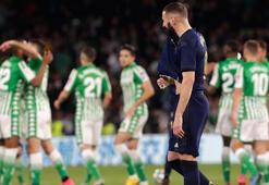 Real Madrid, liderliği Barcelonaya kaptırdı