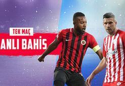 Gençlerbirliği-Antalyaspor maçı canlı bahisle Misli.comda...
