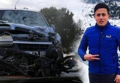 Hafif ticari aracın çarptığı motosikletli genç öldü