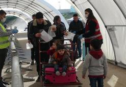 Suriyelilerin, bayram için ülkesine gidişleri sürüyor