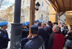Son dakika: KKTC polisi ile BM askerleri arasında sınır kapısı gerginliği