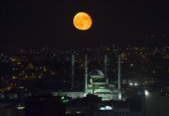 Süper Ay tutulması nedir Süper Ay tutulması ne zaman, saat kaçta
