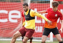 SON DAKİKA | Galatasarayda Adem Büyük idmana devam edemedi