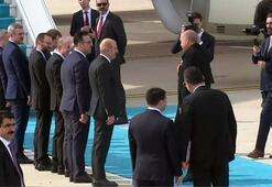 Son dakika: Cumhurbaşkanı Erdoğan Belçika'ya gitti Dikkat çeken an...