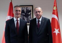 Cumhurbaşkanı Erdoğan, NATO Genel Sekreterini kabul etti