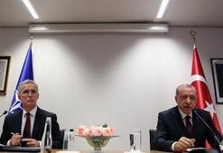 Cumhurbaşkanı Erdoğan, NATO Genel Sekreteri Stoltenberg ile ortak basın toplantısında konuştu