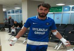 Payassporlu futbolculara maç sonrası bıçaklı saldırı
