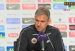 Hamza Hamzaoğlu: Oyuncularımı tebrik ediyorum