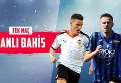 Valencia - Atalanta maçı canlı bahisle Misli.comda