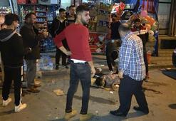 Sınırı geçemedi Sultangazide kalçasından bıçaklandı