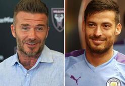 David Beckhamın hedefi David Silva