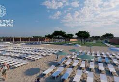 Bakanlığın Belek halk plajları, sezona yetiştirilecek