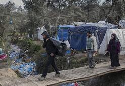 Binlerce sığınmacının bulunduğu Midillide koronavirüs görüldü