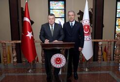 Yargıtay Başkanı Ciritten, Bakan Akara veda ziyareti