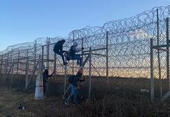 Avrupada göçmen telaşı Yunanistan sınırına askeri ekipman yardımı...