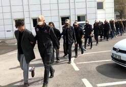 'Hücre evi' baskınında 19 şüpheli tutuklandı