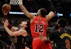 NBAde Cavaliers forması giyen Cedi, Bullsa karşı 9 sayı attı