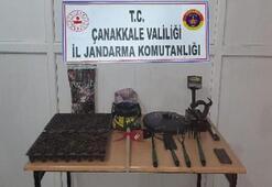 Çanakkale'de yasa dışı kenevir ekimine gözaltı