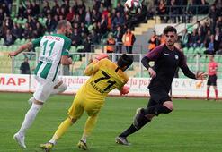 Giresunspor evinde Keçiörengücünü 1-0 mağlup etti