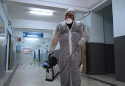 Sultangazideki okullar dezenfekte edildi