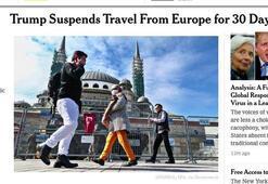 Son dakika: ABD gazetesinden skandal corona virüs haberi Türkiyeden...