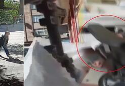İstanbulda korku dolu anlar Hem silahla vurdu, hem yayınladı