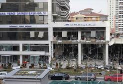Ankaradaki vergi dairesine bombalı saldırıyla ilgili flaş gelişme
