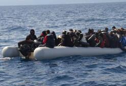 Yunan unsurlarının ittiği 85 göçmeni, Türk Sahil Güvenliği kurtardı